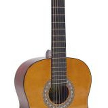 A harp guitar is similar to a guitar, but possesses additional unstopped strings
