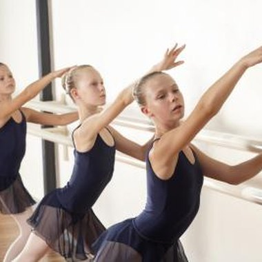 Ballet drills are challenging workouts designed to improve dancers' ability.