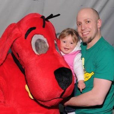 A Clifford the Big Red Dog party theme is sure to be a hit with young ones.