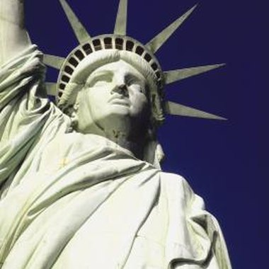 The Statue of Liberty is iconically New York.