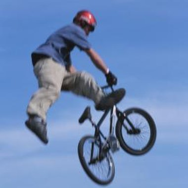 BMX trail riding is vastly different from mountain bike trail riding.