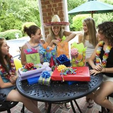 Teen birthday parties don't always have to be expensive to be fun.