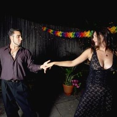 Salsa can be danced for fun or as part of a dancing competition.