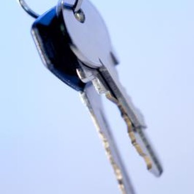 Keys are just one of many objects that can be slung against a guitar to create dings.