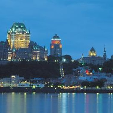 Quebec City was founded in 1608 by Samuel de Champlain.