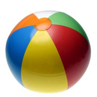 Use inflated beach balls as prizes for game winners.