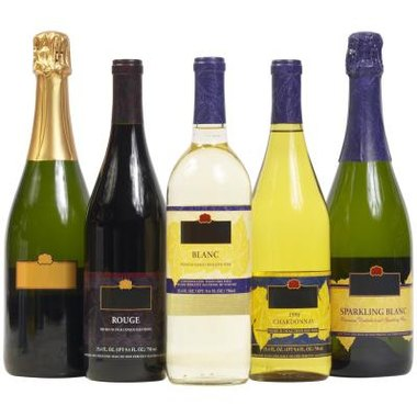 Quality wine in a variety of price ranges is appropriate for a dinner party.