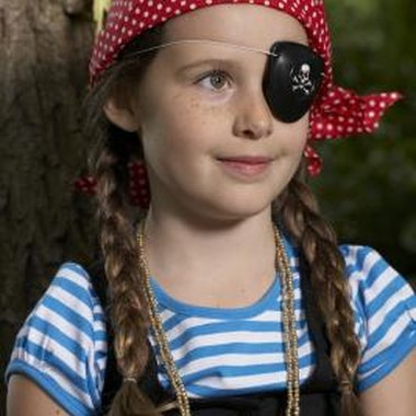 Pirate parties allow girls to indulge in a sense of adventure.