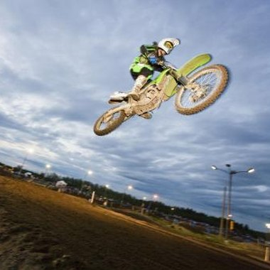 Racers test different skills at the various dirt bike races.