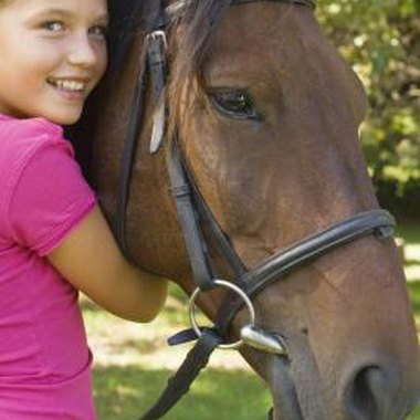 Horseback riding establishes trust and self-confidence in young riders.