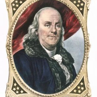 Franklin was an economist who printed early U.S. paper currency.