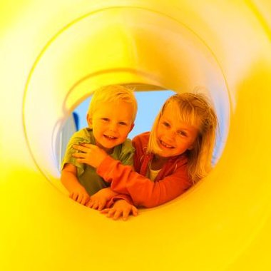 Indoor playgrounds offer year round fun, regardless of weather conditions.
