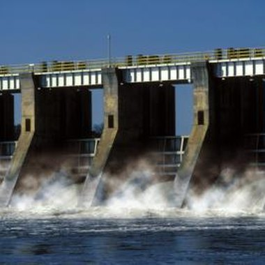 Dam outlets release cold, oxygen-rich water.