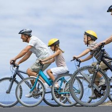 Families can share their enthusiasm for cycling.