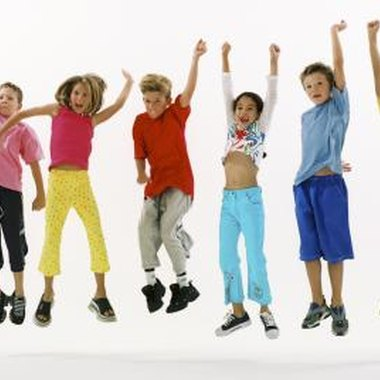 Square dancing is a great way for children to get moving and burn calories.