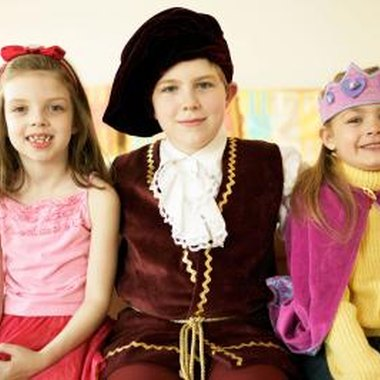 Invite kids to wear medieval costumes to the party.