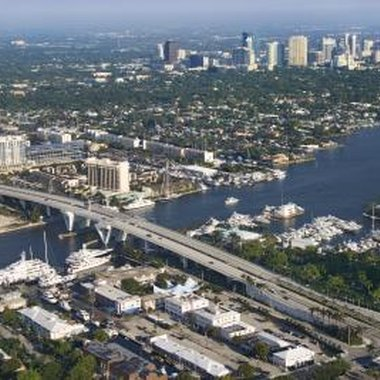 The Fort Lauderdale cruise port is convenient to downtown attractions.