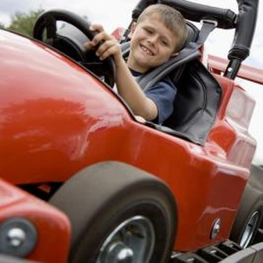 Go-karts provide some exhilarating fun for kids.