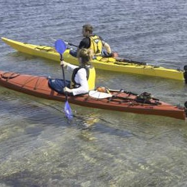 Kayak tours help paddlers get to know their local waters.