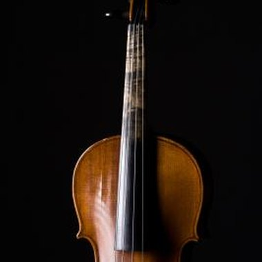 The cello is constructed of three different types of wood.