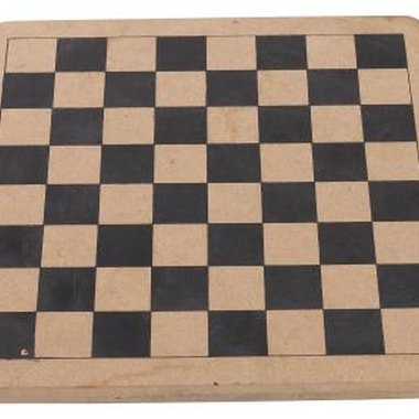 A simple checkerboard is an example of a tessellation.