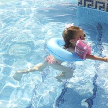 Learning how to swim is important for children of any age.