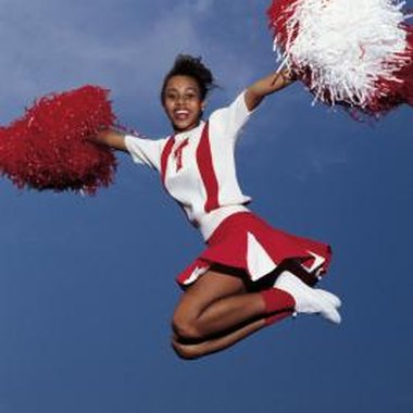 Improve your cheerleading skills at a cheer camp in Mesquite, Texas.