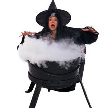You can even create your own fog for an inexpensive Halloween decoration.