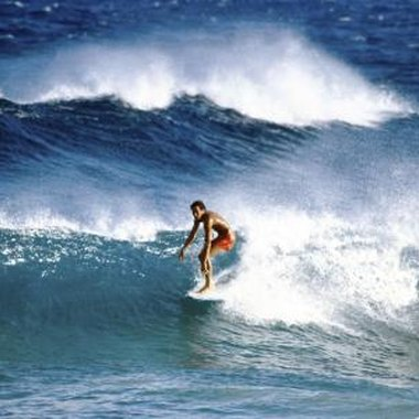 Jetties help produce larger, more powerful waves.