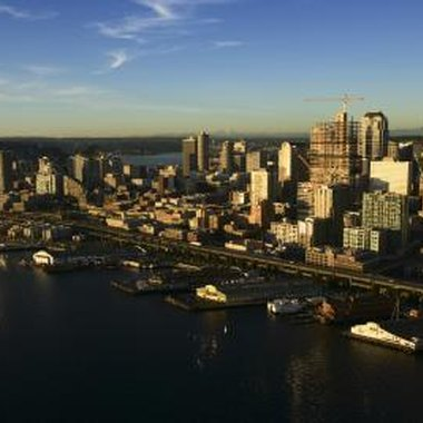 Cities in western Washington include Seattle, Olympia, Mount Vernon and more.