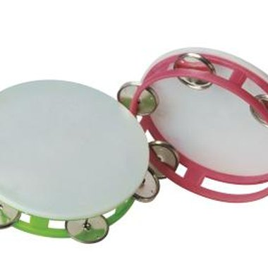 Tambourines were used as far back as the 13th century.