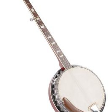 The distinct shape of the banjo is the source of