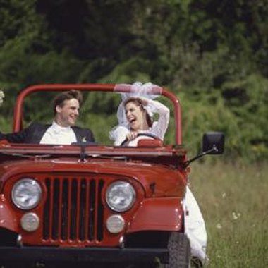 Use a jeep instead of a limo.