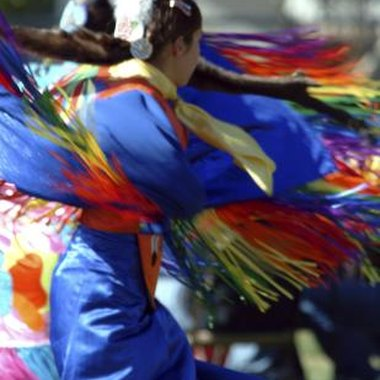The Fancy Shawl Dance is also known as the Cherokee Butterfly Dance.
