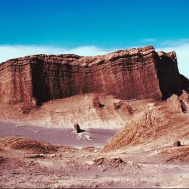 The Atacama has the lowest moisture level in the world.