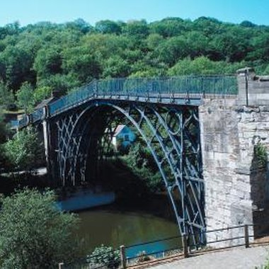 The historic Ironbridge Gorge is a 20-minute drive from Weston Park.