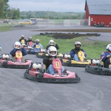 Go-kart birthday parties don't have to include refreshments at the track.