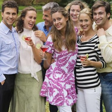 An outdoor Jack and Jill party can reflect the interests of the couple.