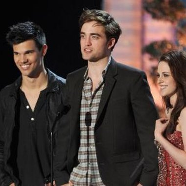 The stars of Twilight include Rob Pattinson, Kristen Stewart and Taylor Lautner.