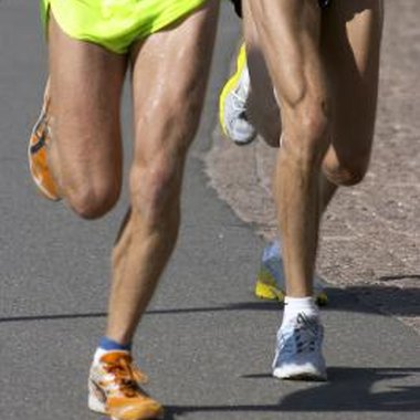 Running can be competitive and challenging