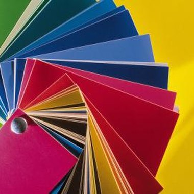 Select bright, lively colors when purchasing kite paper for window stars.