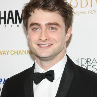 Daniel Radcliffe stars as Harry Potter in the movie series based on the J.K. Rowling novels.