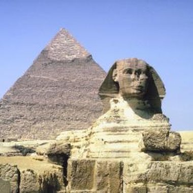 The pyramids of Giza and the Sphinx are easily accessible by taxi.