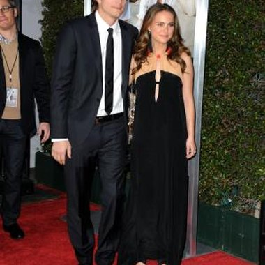Natalie Portman and Ashton Kutcher at the