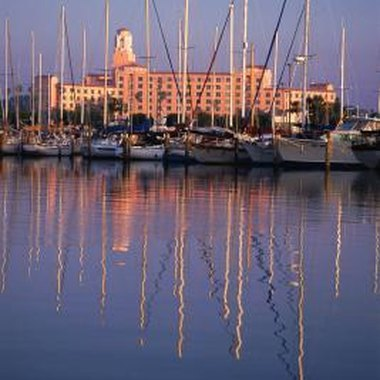Vacationers choose from a variety of hotels and inns throughout the St. Petersburg area.
