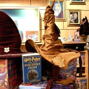 Use the Harry Potter books and movies for ideas about props for the party.