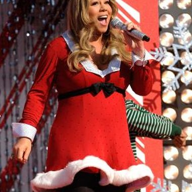 Mariah Carey has one of the top-selling Christmas albums of all time.
