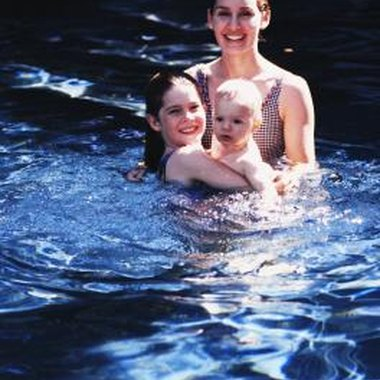 Formal swim lessons get your babies acclimated to water in a safe environment.