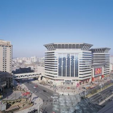 The New World Shopping Mall in Beijing is a popular destination for shoppers.