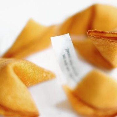 Homemade fortune cookies are customizable and memorable party favors.